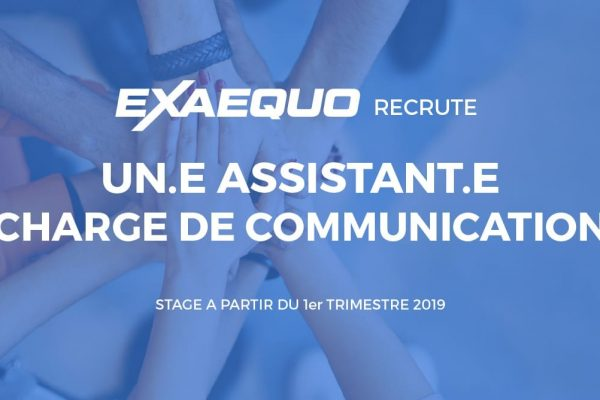 Fiche de poste assistant communication
