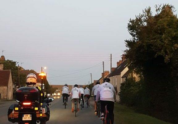 Challenge vélo entreprise normandie