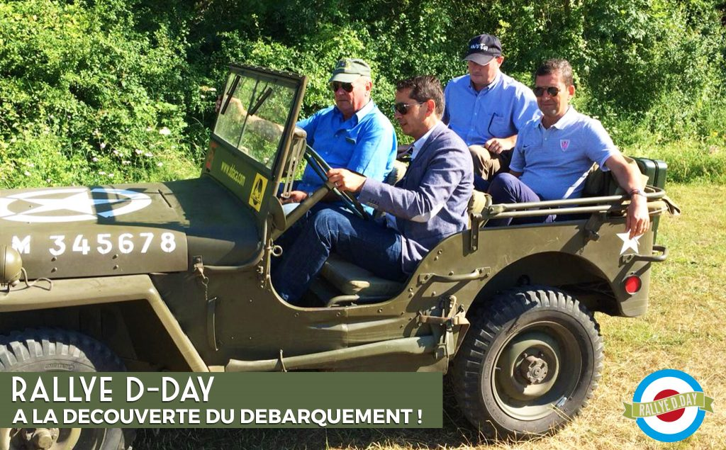 rallye d-day team building