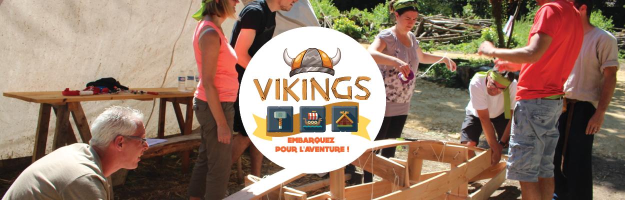 Vikings Team Building Cohésion Esprit d'équipe Normandie