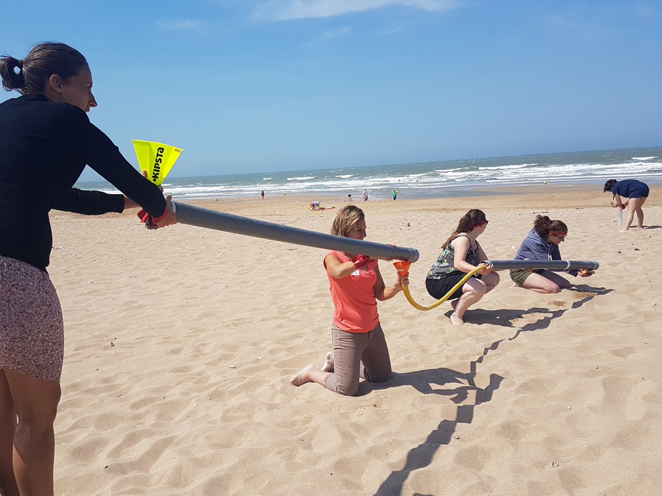 Collective Games Team Building Incentive Normandie Jeux Equipe Teamwork