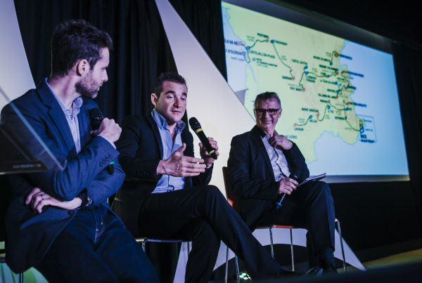 Interview Voeckler soirée séminaire intervention conference Exaequo Caen Normandie