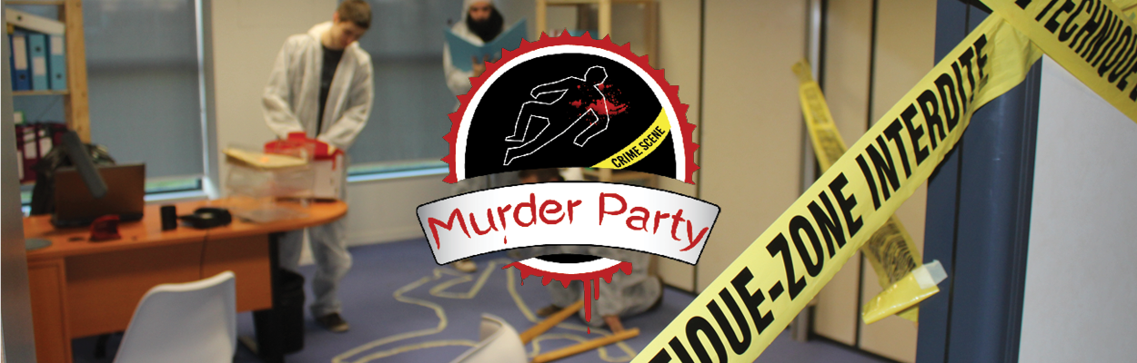 Murder Party Incentive Team Building Crime Enquête Police Normandie