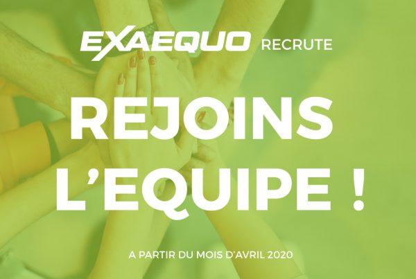 Exaequo communication recrute stage communication production