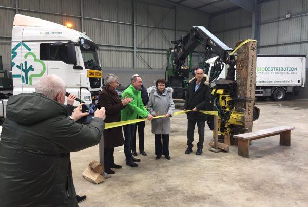 Inauguration plateforme Biocombustibles Exaequo