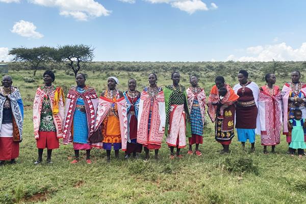 kimbia kenya en terre massaï