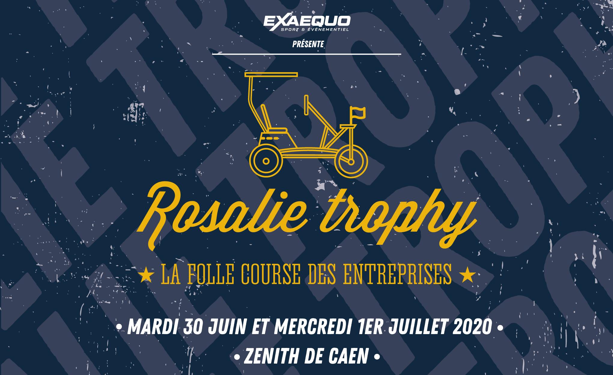 Rosalie trophy zénith de caen challenge inter-entreprise