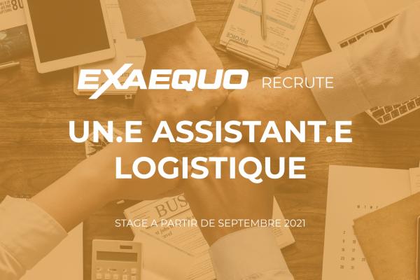 Recrutement assistant logistique Exaequo Xteam