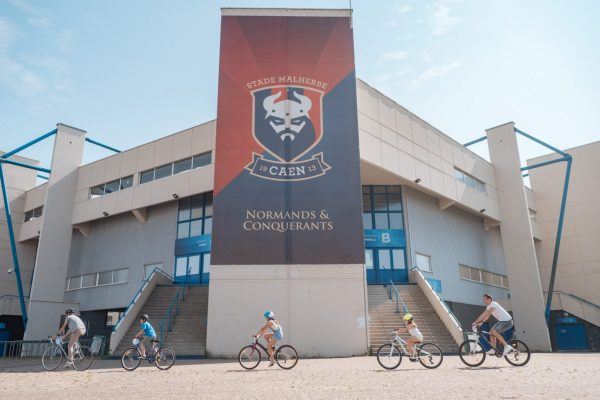 balade à vélo Caen Stade Malherbes Caen ça bouge événement Calvados
