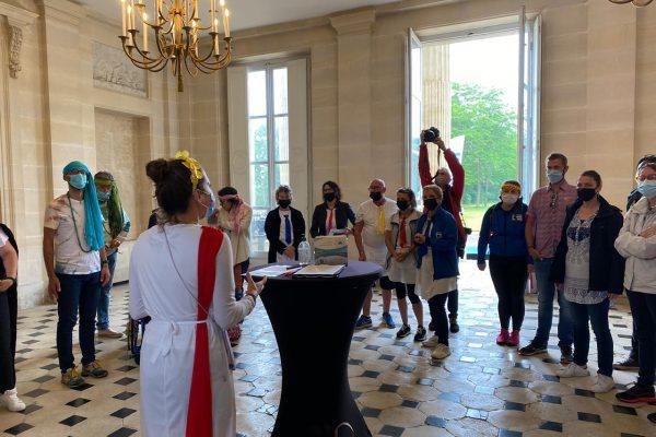 Parenthèse des Agents 2021 Département du Calvados Chateau de Bénouville