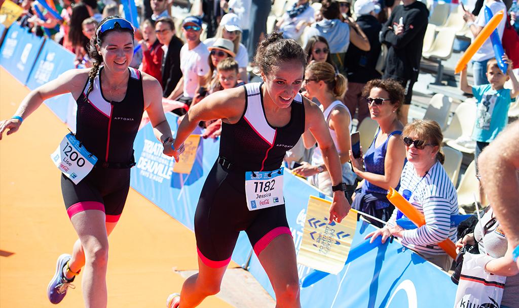 Course à pied triathlon deauville calvados