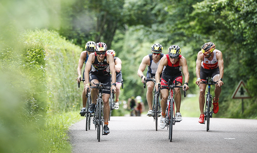 Challenge entreprise deauville triathlon vélo cycle cyclisme